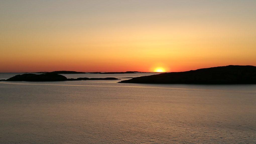 Manspaddlingens solnedgång